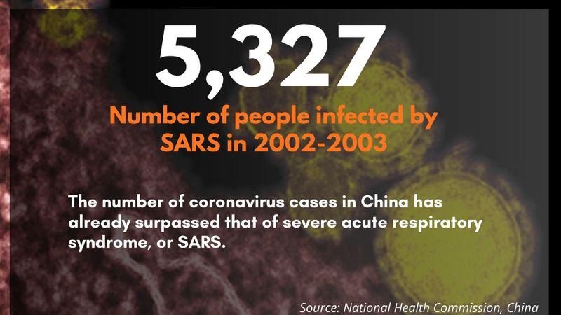 SARS 2002 2003 corona China