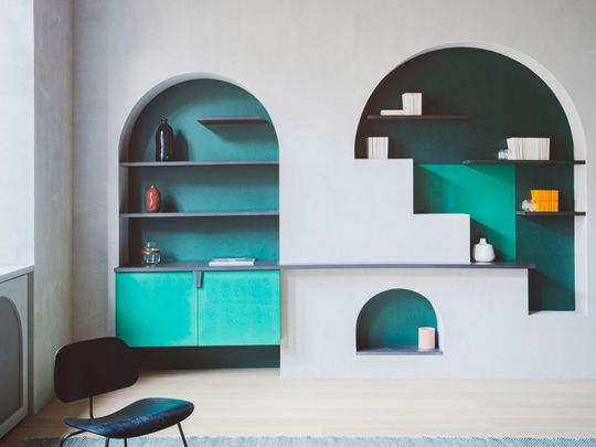 Celebrate niches and architectural quirks with colour-1580387809978