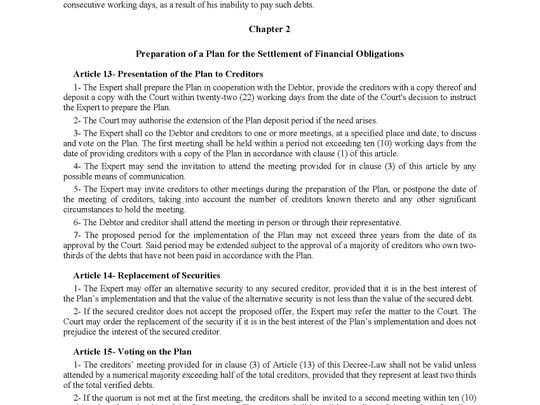 Insolvency law 5