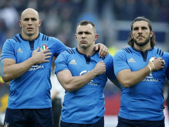 Italy are looking for a Six Nations win