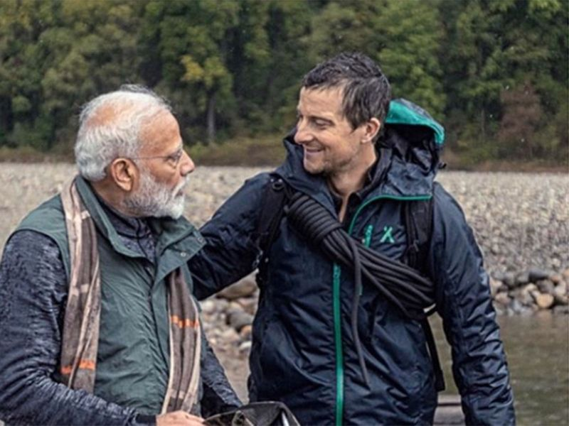Prime Minister Modi and Bear Grylls