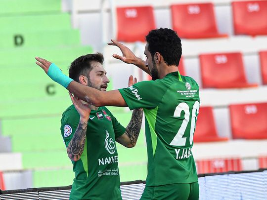 Shabab Al Ahli Dubai beat Hatta 1-0 in the AGL