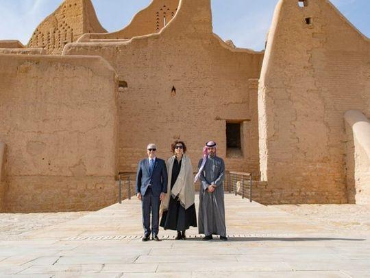 UNESCO chief in Al Turaif