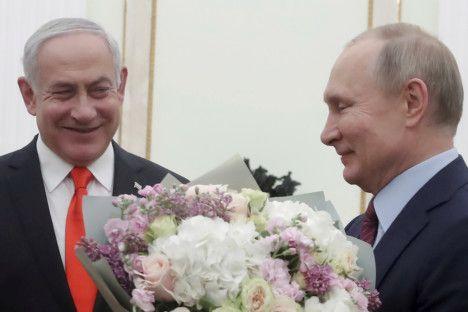 REG Netanyahu Putin-1580451956658