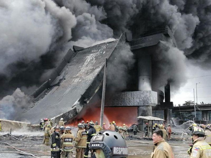 Collapse span Manila Skyway