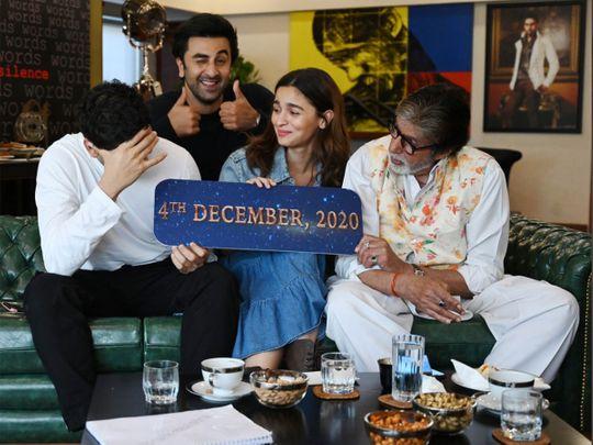 Amitabh Bachchan, Ranbir Kapoor Alia Bhatt and AyanMukerji