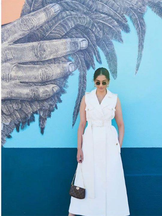 Sonam Kapoor at the Venice Beach, Los Angeles