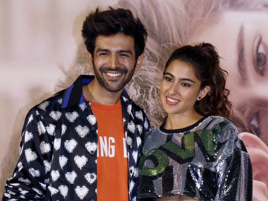 TAB 200202 Sara Ali Khan and Kartik Aaryan-1580638526370