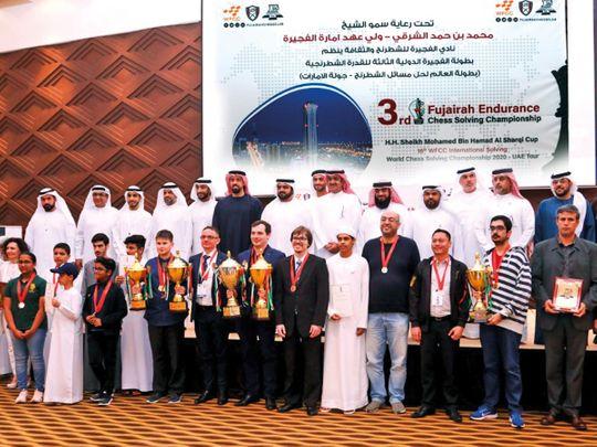 Winners of the Fujairah Chess Endurance Championship