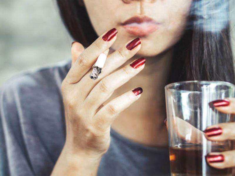 stress, drink and smoke