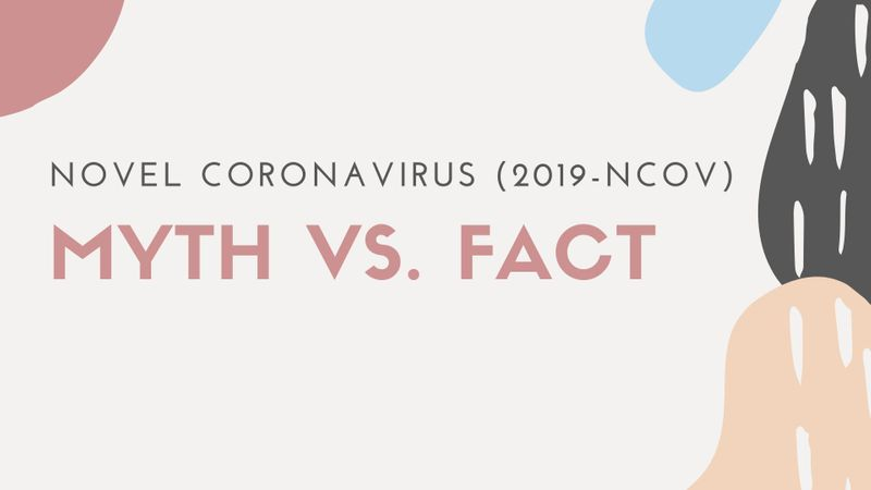 Corona virus myth vs fact
