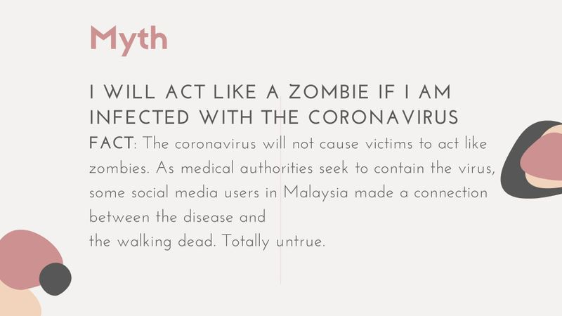 Coronavirus Myth vs. Fact