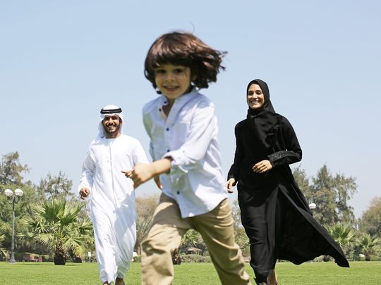 Dubai Health Authority Walking exercise