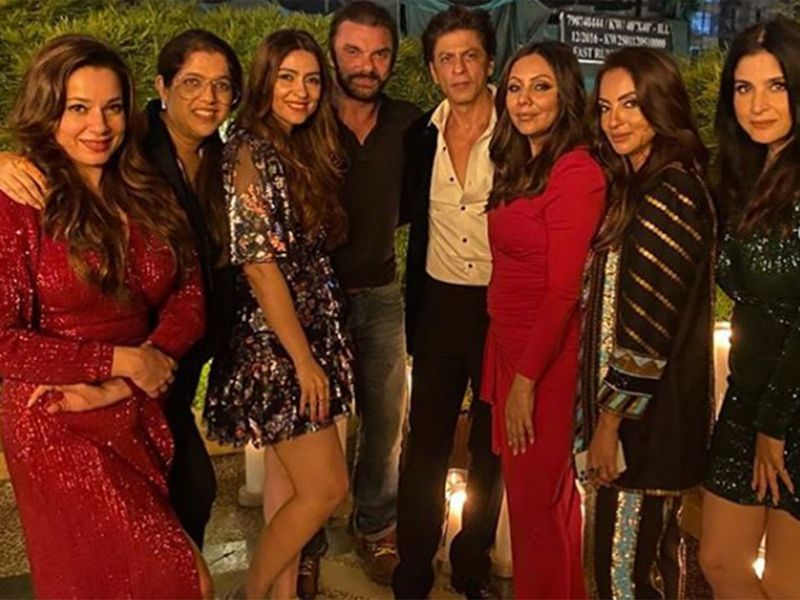 Guests at Gauri Khan's party