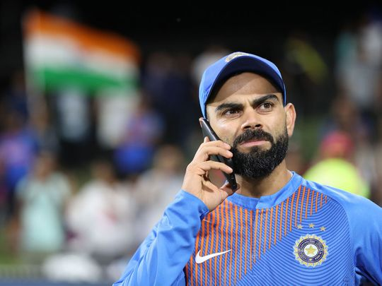 If you know, you know: Virat Kohli takes a call