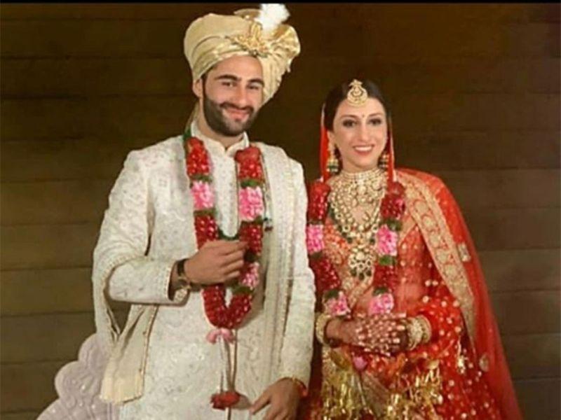 Armaan Jain with his Anissa Malhotra