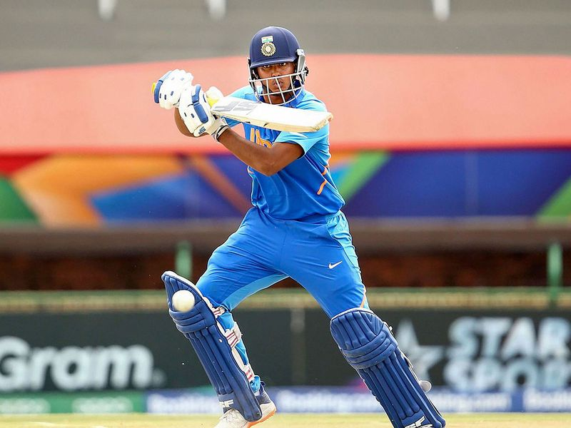 Divyaansh Saxena smashed an unbeaten fifty in the win over Pakistan