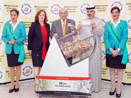 NAT DDF Millennium Millionaire draw in Series 323-1580818234169