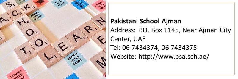 Pakistani schools UAE 13