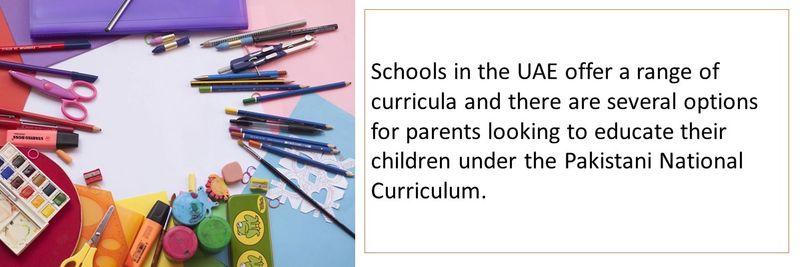 Pakistani schools UAE 2
