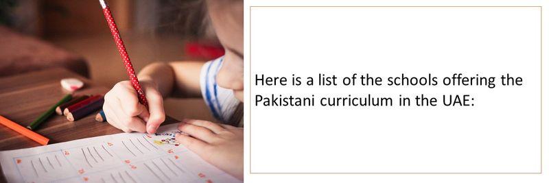 Pakistani schools UAE 3