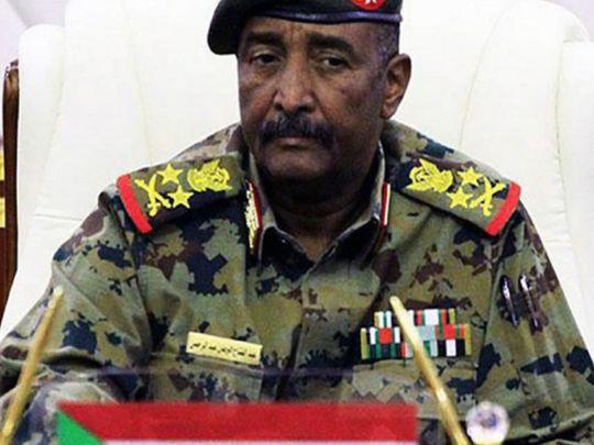 REG 200204  General Abdul Fattah Al Burhan-1580809623471