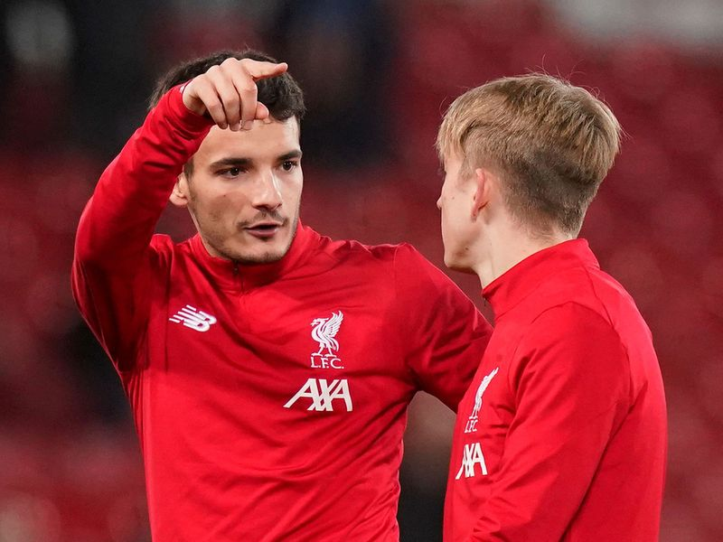 Anfield, Liverpool, Britain - February 4, 2020  Liverpool's Pedro Chirivella during the warm up before the match   REUTERS/Andrew