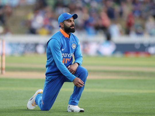 India skipper Virat Kohli was on the losing side against New Zealand in the first ODI