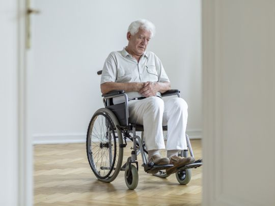 OPN OLD MAN WHEELCHAIR-1580899159921