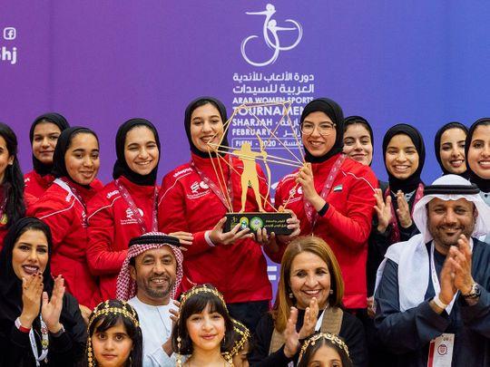 Sharjah won archery gold at AWST 2020