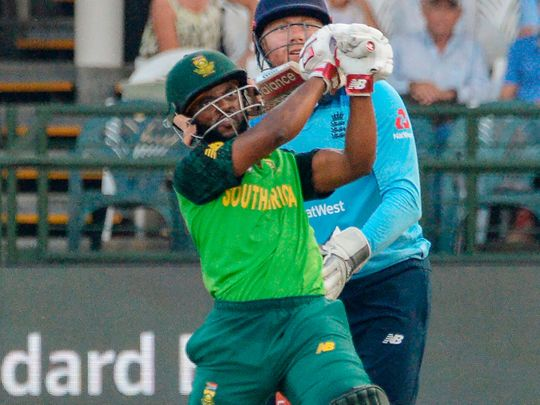 South Africa's Temba Bavuma