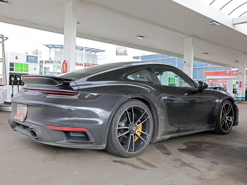 Spy Shots 2021 Porsche 911 Turbo S Being Tested Auto News Gulf News