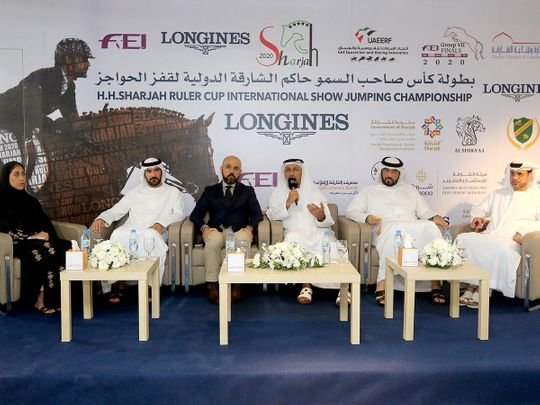 Abdullah Al Muhairi will lead a strong UAE assault on the CSI5* HH Sharjah Ruler Cup International Show Jumping Championship