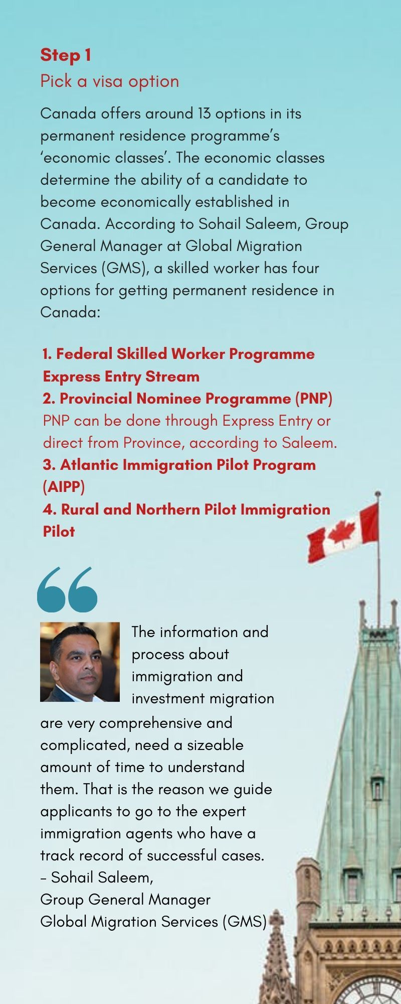 Canada immigration 1 new