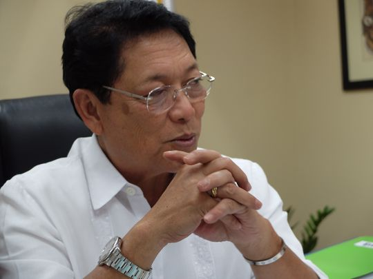 Philippine Labour Secretary Silvestre Bello III