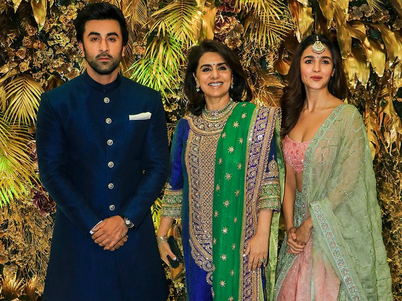 Ranbir Kapoor , Neetu Singh and Alia Bhatt