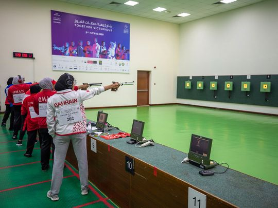 Shooters participate at AWST 2020