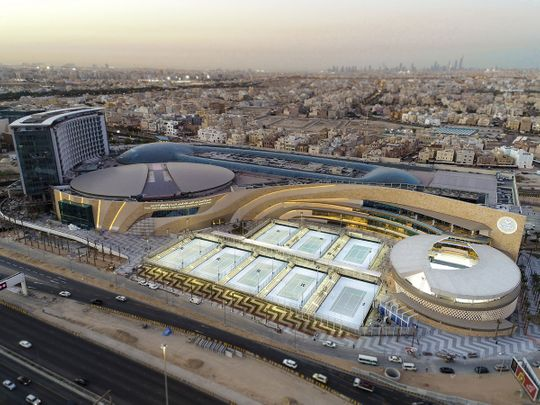 The Rafa Nadal Academy comlex in Kuwait