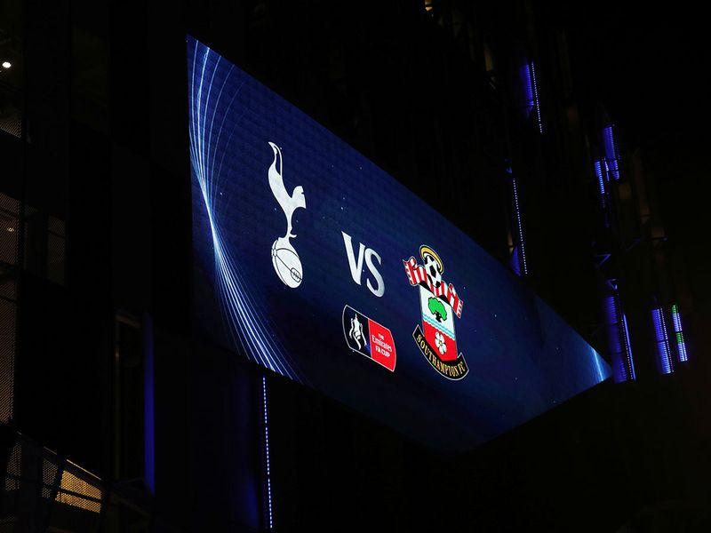Tottenham v Southampton FA Cup