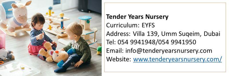 nursery tender years