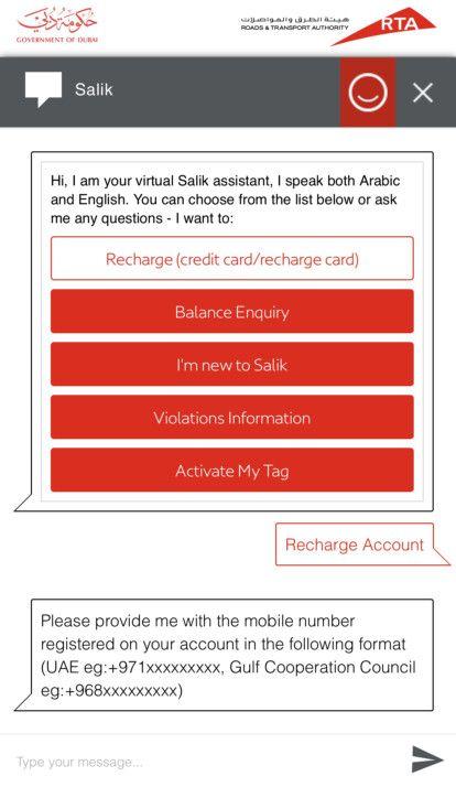 NAT 200207 RTA Chat Bot Salik Virtual Assistant-1581073674639