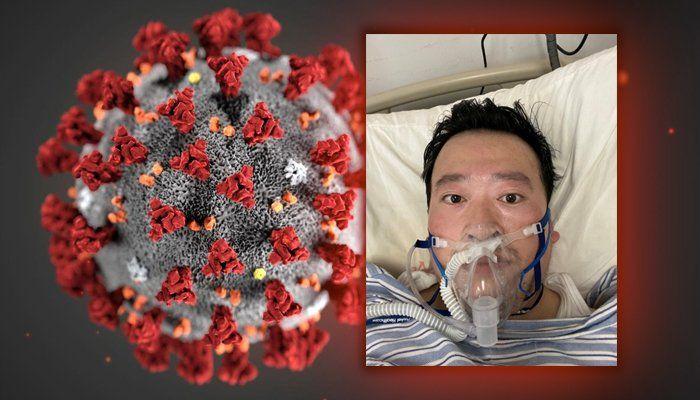 A selfie taken by Dr Li Wenliang,