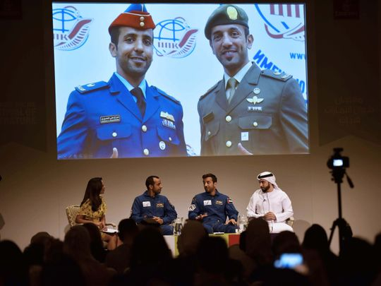 UAE astronauts open up about challenges in race to space