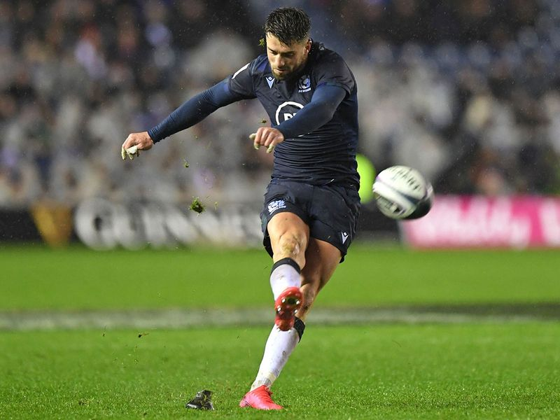 Adam Hastings scored all six of Scotland's points