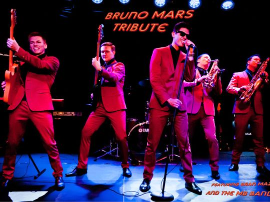 Bruno Mars Tribute Band