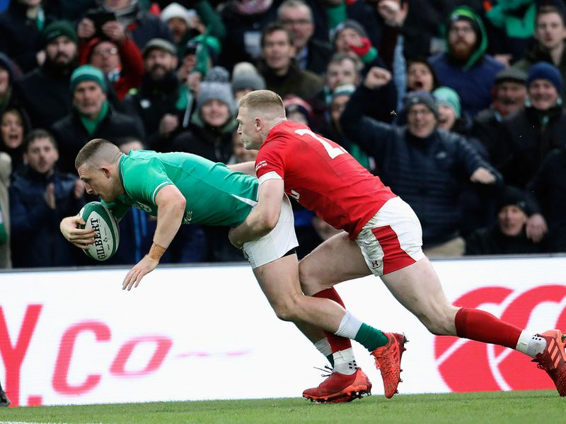 Earlier, Ireland took on Wales in Dublin, with he hosts winning comfortably