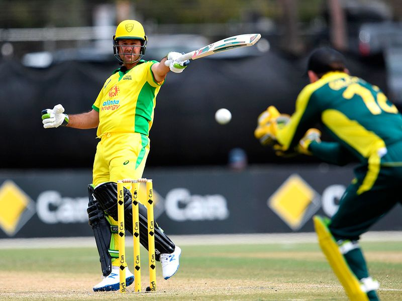 It was a regular cricketing who's who as former Australia skipper Ricky Ponting picked up his bat once again