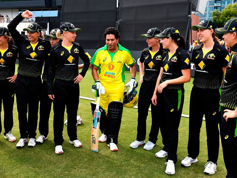Tendulkar is in Melbourne as coach of the team led by former Australian captain Ricky Ponting, who are playing against a team led by former Australian wicketkeeper Adam Gilchrist. Perry, however, threw a challenge to Tendulkar on Saturday via a video message tweeted by the Australian women's team. Tendulkar in turn accepted the challenge.