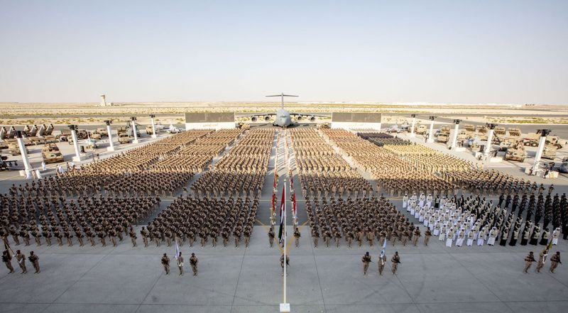 UAE celebrates the return of its brave soldiers from Yemen