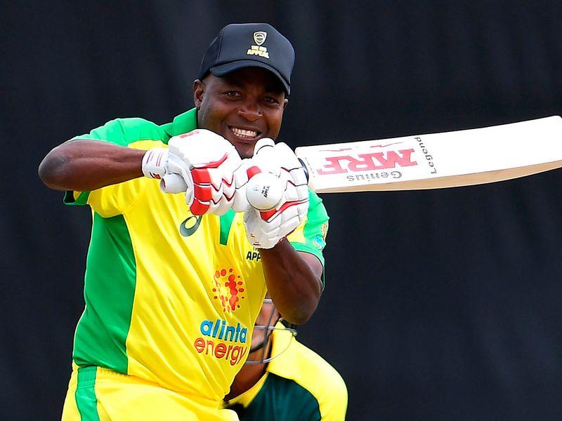 West Indies great Brian Lara was having fun back at the crease